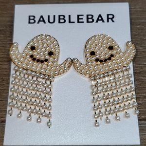 BaubleBar Faux Pearl Ghost Dangle Earrings
